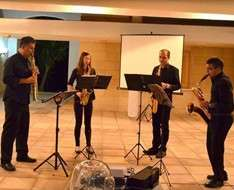 Cyprus Event: A music evening with the EUC SAX QUARTET II
