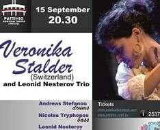 Cyprus Event: Veronika Stalder & Leonid Nesterov Trio