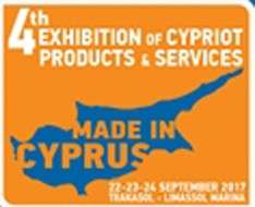 "4th Exhibition of Cypriot products and services ""Made in Cyprus"""