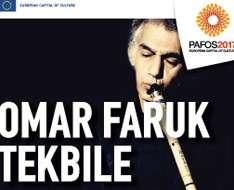 Cyprus Event: Omar Faruk Tekbile - Pafow2017