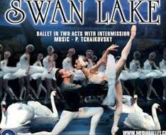 Cyprus Event: Swan Lake - Ballet in 3D scenery