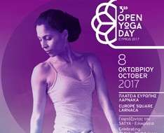 Cyprus Event: 3rd OPEN YOGA DAY CYPRUS 2017