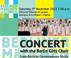 Cyprus Event: Concerts of Berlin Girls Choir - Pafos