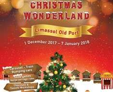 Christmas Wonderland in Lemesos 2017-2018