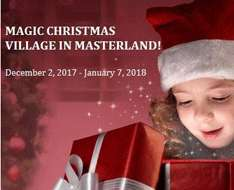 Cyprus Event: Magic Christmas Village in Masterland