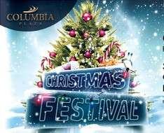 Cyprus Event: Christmas in the Columbia Plaza courtyard
