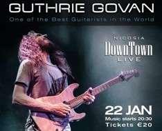 Cyprus Event: Guthrie Govan