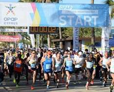 Cyprus Event: OPAP Limassol Marathon GSO 2018
