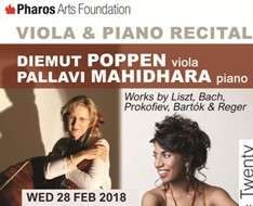 Cyprus Event: Viola & Piano Recital - Pharos Arts Foundation