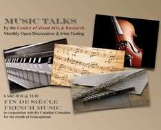 Cyprus Event: Music Talks: Fin de Siècle French Music