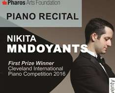 Cyprus Event: Nikita Mndoyants Piano Recital - Pharos Arts Foundation