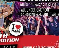 Cyprus Event: 13th Cyprus Salsa Congress 2018