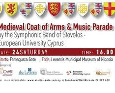 Medieval Coat of Arms and Music Parade - 3rd Medieval Nicosia Festival 2018