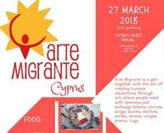 Cyprus Event: Arte Migrante Cyprus #1 - Launch Event
