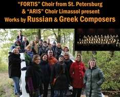 "Cyprus Event: Concert of ""FORTIS"" Choir of St. Petersburg and ""ARIS"" Choir of Lemesos"
