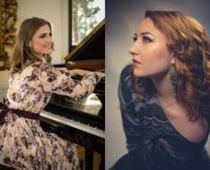Concert with the pianist Tatiana Stupak and the soprano singer