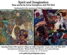 Cyprus Event: Spirit and Imagination - Anna Georghiou & Phil Bird