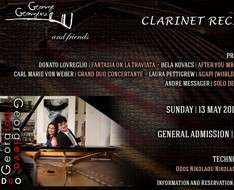 Cyprus Event: Recital for clarinet and piano