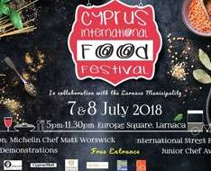 Cyprus Event: Cyprus International Food Festival 2018 (Larnaka)