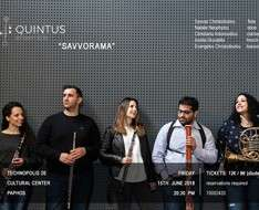"Cyprus Event: 'Savvorama': with the Woodwind Ensemble ""Quintus"""