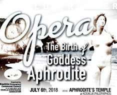 "Cyprus Event: ""The Birth of goddess Aphrodite"" - Opera"