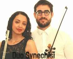 Cyprus Event: Duo Synéchisi: A concert for flute and violin