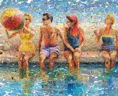 "Cyprus Event: Exhibition by the artist Charis Tsevis titled ""Endless Summer"""