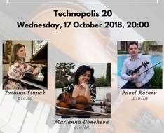 Cyprus Event: Two violins and a piano