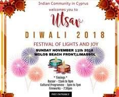 Cyprus Event: Diwali 2018