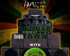 "Cyprus Event: Reggae Town with ""Roots Crew"" #DownTownLive"