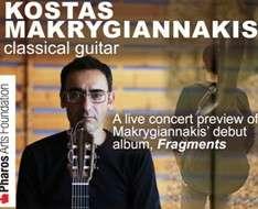Cyprus Event: Kostas Makrygiannakis classical guitar