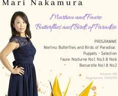 Butterflies and Birds of Paradise: Piano Recital