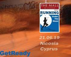 Cyprus Event: The Mall Of Cyprus Presents Running Under The Moon®