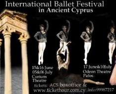 Cyprus Event: International Ballet Festival in Ancient Cyprus (Lemesos)