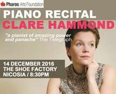 Piano recital with Clare Hammond