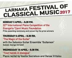 Larnaka Festival of Classical Music 2017
