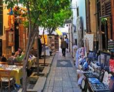 Traditional  occupations  in  Laiki  Geitonia  Neighbourhood in Lefkosia - May 2017